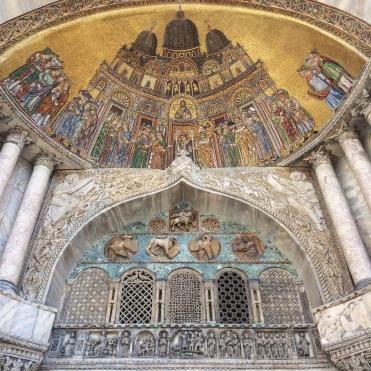 Venedig, San Marco, Porta Alipio (Foto: Armin Bergmeier )