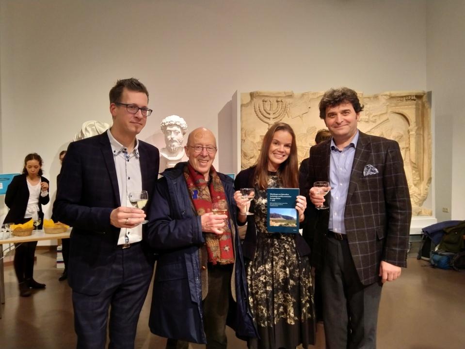 Präsentation von Bd. 7 der Mitteilungen zur Spätantiken Archäologie und Byzantinischen Kunstgeschichte